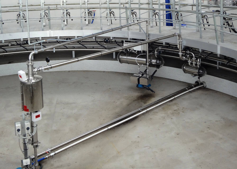 read milking systems centre gland