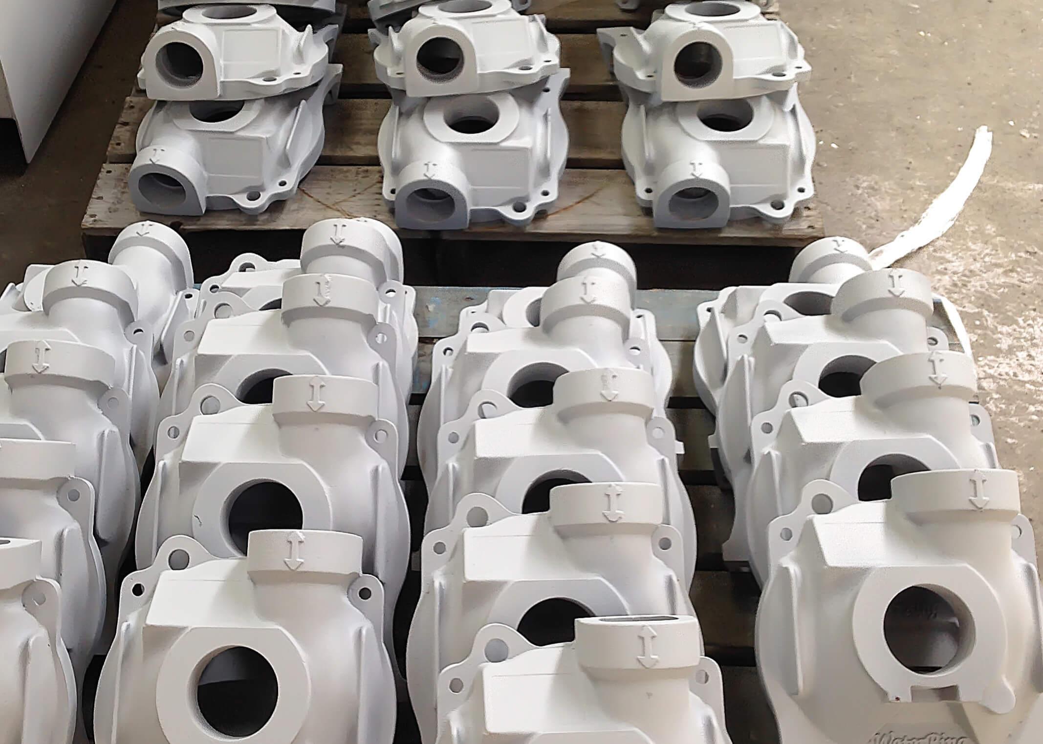 Vacuum pump castings