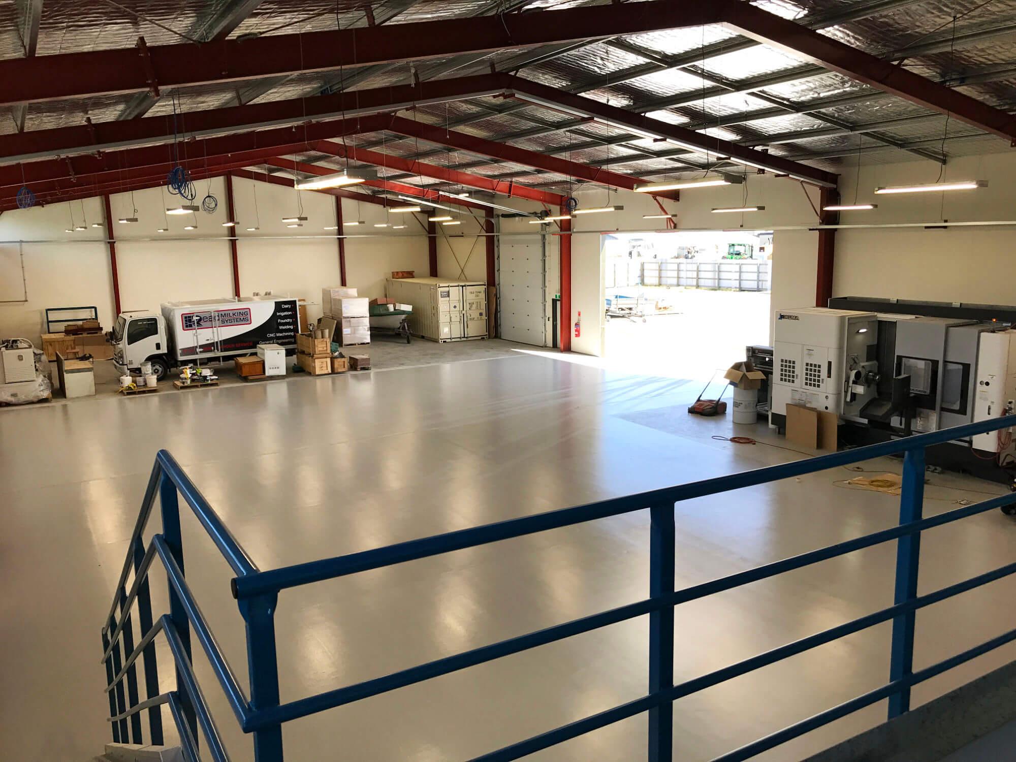 Read Industrial Ltd new CNC building
