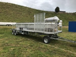 Portable Sheep Trailer - Read Milking Systems