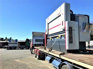 The new Dener - Puma XL CNC 220 ton folding machine is delivered.
